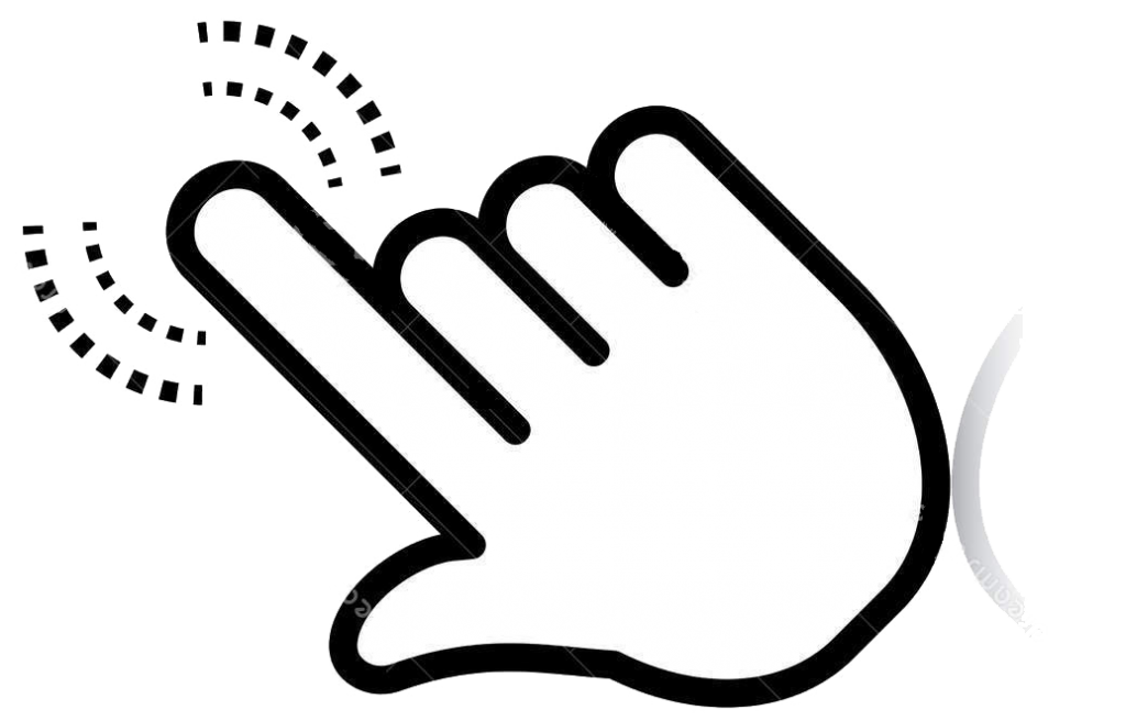 FAVPNG pointer index finger point and click clip art EtXEmxd2
